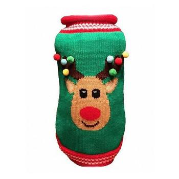 Christmas Rudolf Dog Sweater