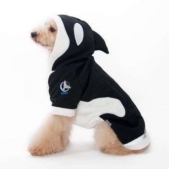 Killer Whale Dog Hoodie