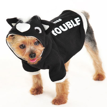 Trouble Skunk Dog Sweatshirt / Costume