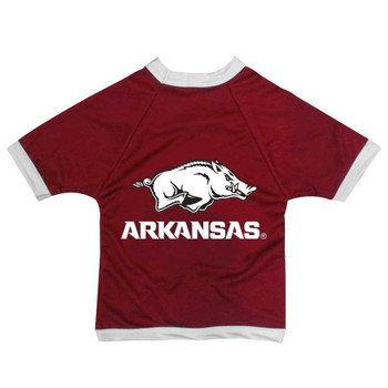 Arkansas Razorbacks Premium Pet Jersey - X-Small