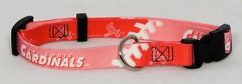 St. Louis Cardinals Pink Dog Collar