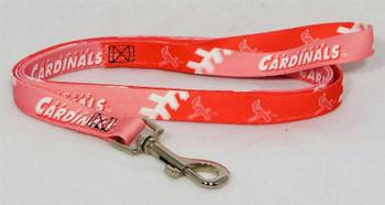 St. Louis Cardinals Pink Dog Leash