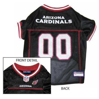 Arizona Cardinals Dog Jersey  - pfarz4006-0001