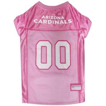 Arizona Cardinals Pink Pet Jersey