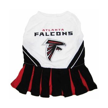 Atlanta Falcons Cheerleader Dog Dress - Small