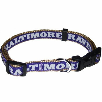 Baltimore Ravens Pet Collar