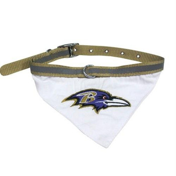 Baltimore Ravens Pet Collar Bandana