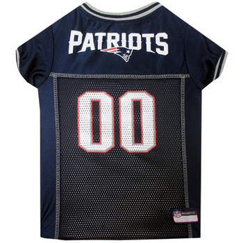 New England Patriots Dog Jersey  - pfnep4006-0001