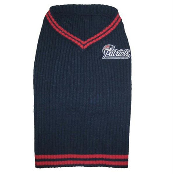 New England Patriots Dog Sweater  - pfnep4012-0001