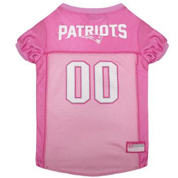 New England Patriots Pink Dog Jersey