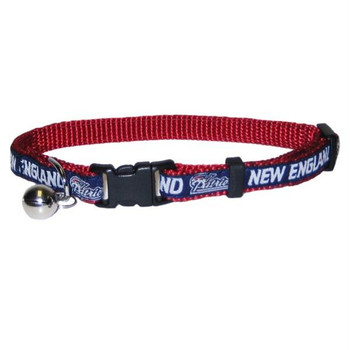 New England Patriots Breakaway Cat Collar
