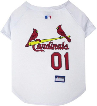 St. Louis Cardinals Pet Jersey - XXL