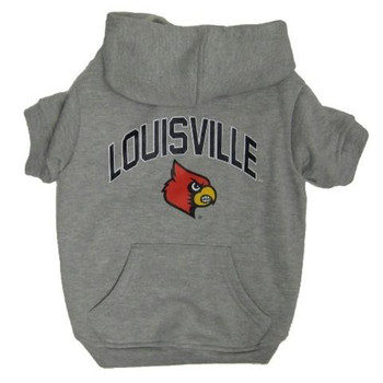 Louisville Cardinals Pet Hoodie Sweatshirt
