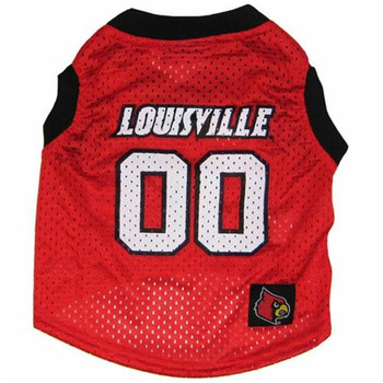 Louisville Cardinals Pet Basketball Tank Jersey