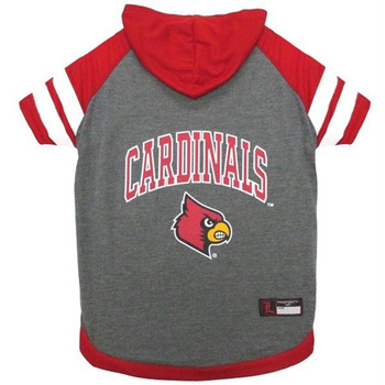 Louisville Cardinals Pet Hoodie T-Shirt