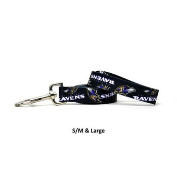 Baltimore Ravens Nylon Leash