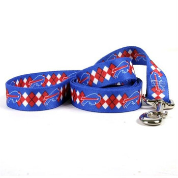 Buffalo Bills Argyle Nylon Leash
