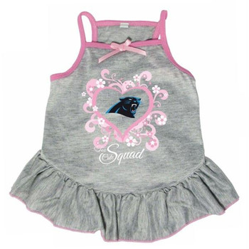 "Carolina Panthers ""Too Cute Squad"" Pet Dress"