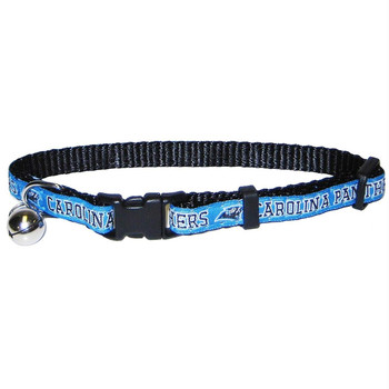 Carolina Panthers Breakaway Cat Collar