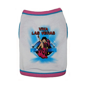 Betty Boop Viva Las Vegas Dog T-Shirt
