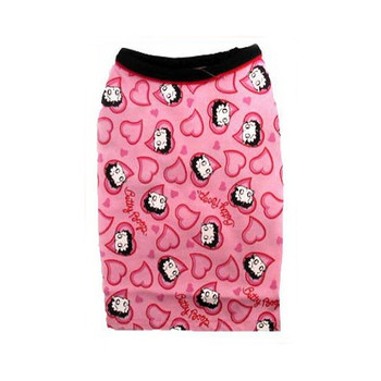 Betty Boop Lots of Love Pink Dog T-Shirt