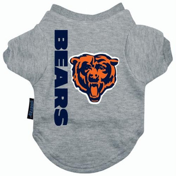 Chicago Bears Dog Tee Shirt  - HCHI4271-0001
