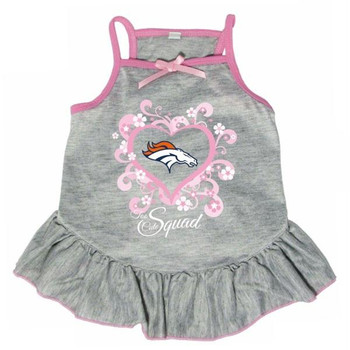 "Denver Broncos ""Too Cute Squad"" Pet Dress"