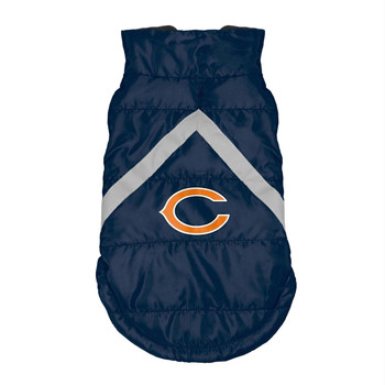 Chicago Bears Pet Puffer Vest - Teacup