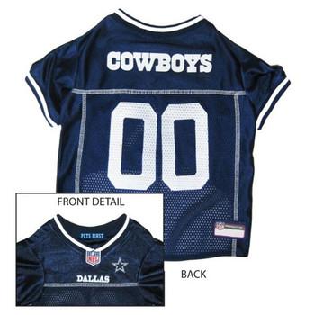 Dallas Cowboys Dog Jersey  - pfdal4006-0001