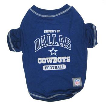 Dallas Cowboys Dog T-Shirt
