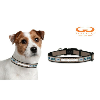 Seattle Seahawks Reflective Football Pet Collar
