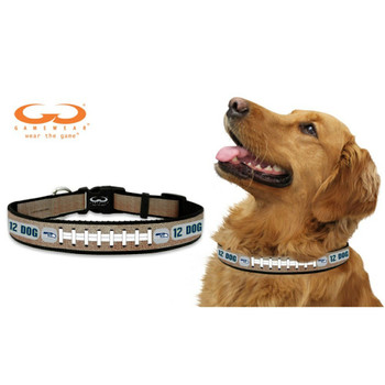 Seattle Seahawks 12th Dog Reflective Football Pet Collar