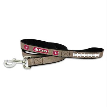 San Francisco 49ers Reflective Football Pet Leash