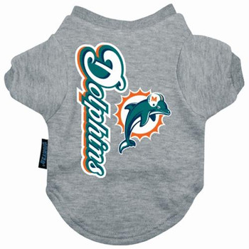 Miami Dolphins Dog Tee Shirt  - HDOL4271-0001
