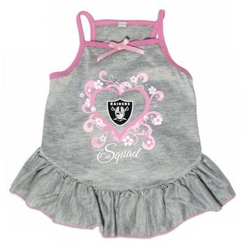 "Oakland Raiders ""Too Cute Squad"" Pet Dress"