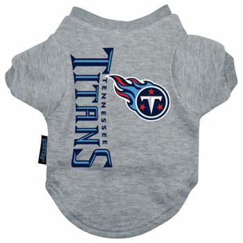 Tennessee Titans Dog Tee Shirt  - HTEN4271-0001