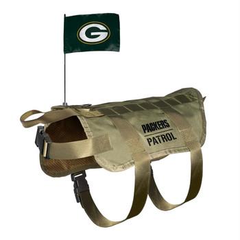 Green Bay Packers Pet Tactical Vest
