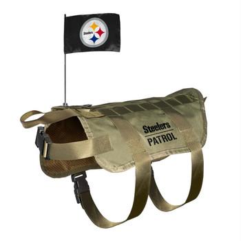 Pittsburgh Steelers Pet Tactical Vest