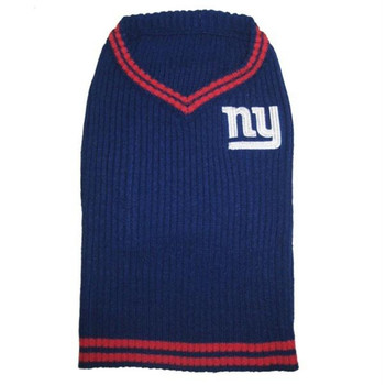 New York Giants Dog Sweater