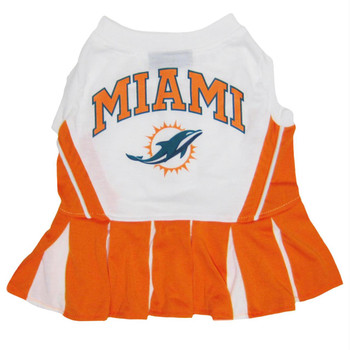 Miami Dolphins Cheerleader Pet Dress