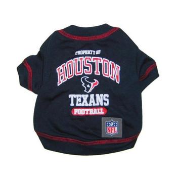 Houston Texans Pet T-Shirt