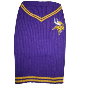 Minnesota Vikings Dog Sweater