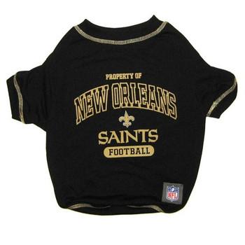 New Orleans Saints Dog T-Shirt