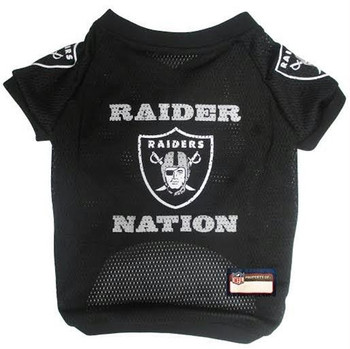 Oakland Raider Nation Pet Jersey