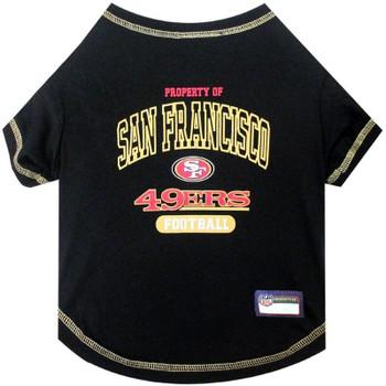San Francisco 49ers Dog T-Shirt