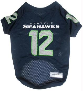 """Seattle Seahawks """"12th Man"""" Pet Jersey"""