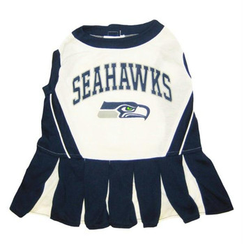 Seattle Seahawks Cheerleader Pet Dress