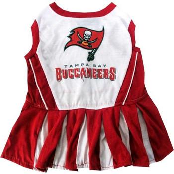 Tampa Bay Buccaneers Cheerleader Pet Dress