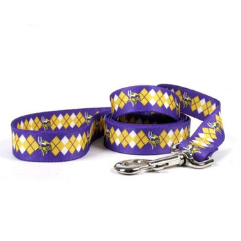 Minnesota Vikings Argyle Nylon Leash