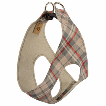 Scotty Doe Plaid Plain Step In Dog Harness by Susan Lanci